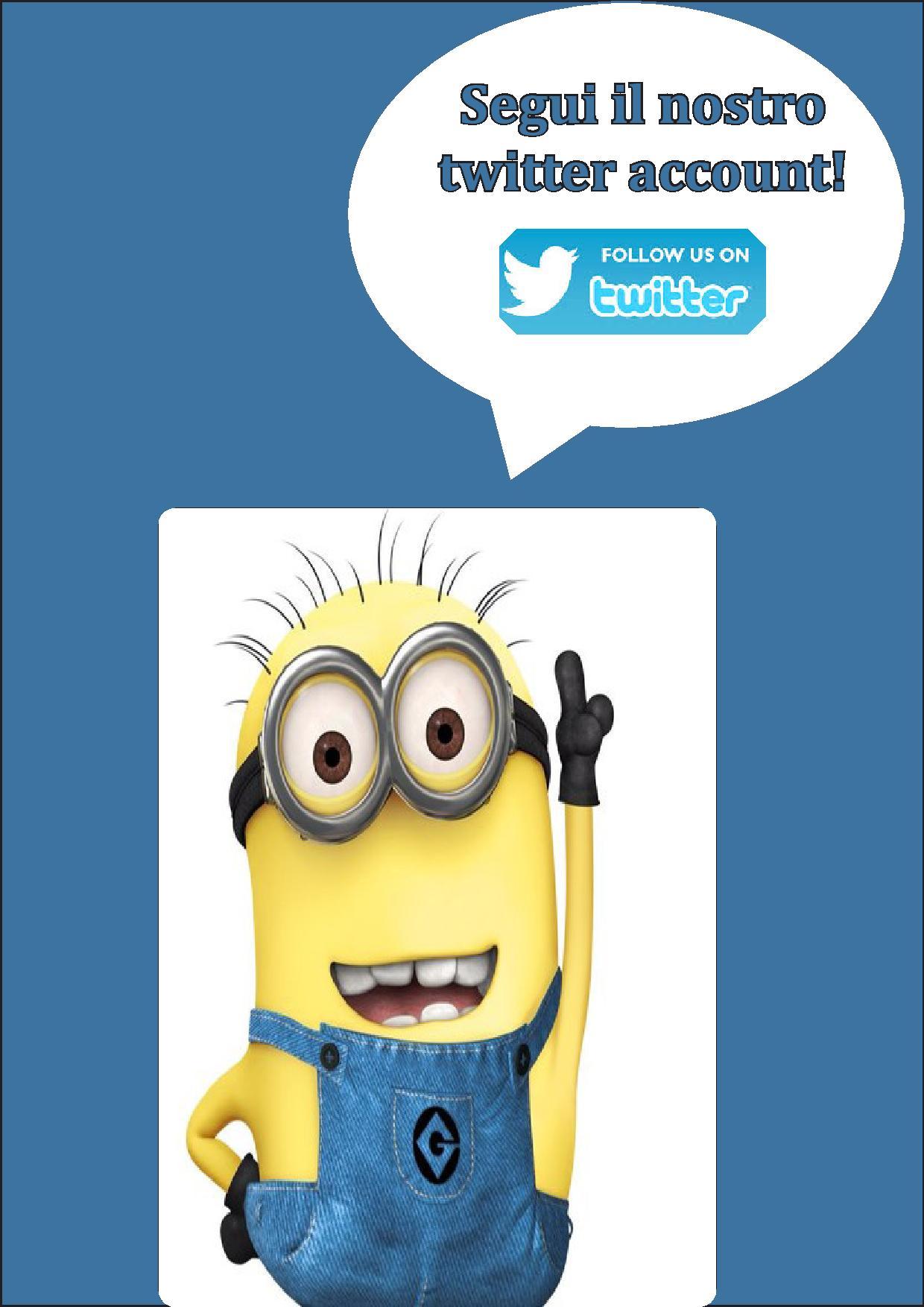 Attivo l'account twitter del CDE