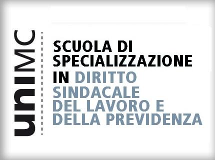 Avviso di selezione Scuola di specializzazione in Diritto sindacale, del lavoro e della previdenza