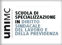 Scuola di specializzazione in Diritto sindacale, del lavoro e della previdenza