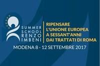 Summer School Renzo Imbeni