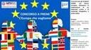 """Concorso a premi: """"L'Europa che vogliamo"""""""