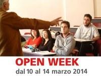 Open week 2014