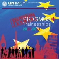Pubblicazione bando Erasmus+ Traineeship