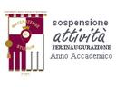 Sospensione attività per Inaugurazione Anno Accademico