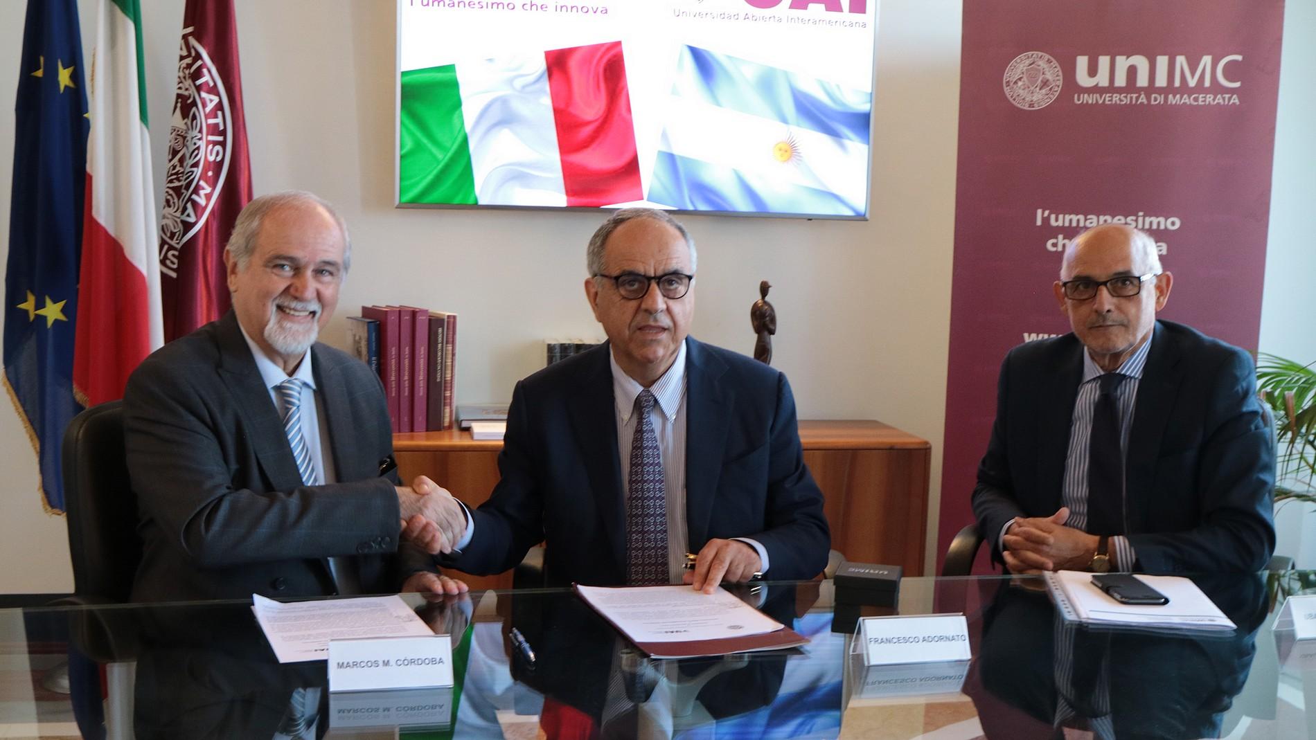 Stipulato l'Accordo con l'Universidad Abierta Interamaericana - UAI di Buenos Aires (Argentina)